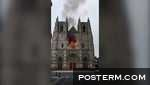 Arson suspected in Nantes cathedral fire