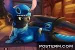 Toothless and Stitch Have a Sleepover