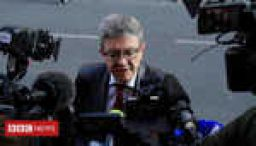 French left-wing leader quizzed over cash