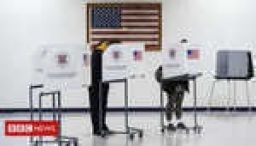 Americans vote in key election for Trump
