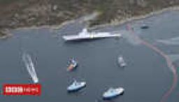 Norway warship 'warned' before collision