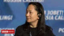 China threatens Huawei arrest consequences