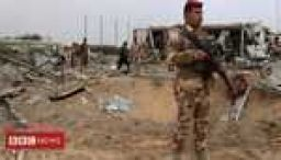 Coalition and Iraqi troops hurt in attack on base