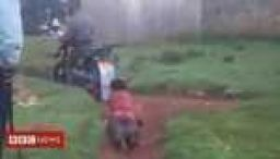 Police arrested after woman dragged by motorbike