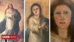 Another Spanish painting is botched by restoration