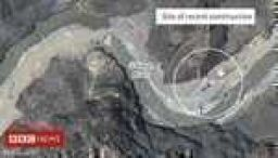 Images 'show China structures' on India border