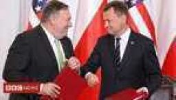 Pompeo signs new defence deal with Poland