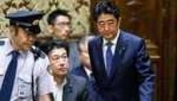 Why is Japanese Prime Minister Shinzo Abe so unpopular?