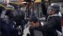 French police quizzed about assault video