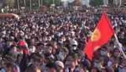 Thousands protest over Kyrgyzstan election result
