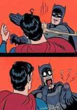 The true behind Batman's slap