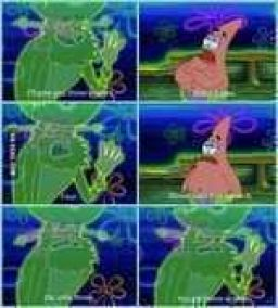 Patrick is such an awesome negotiator.