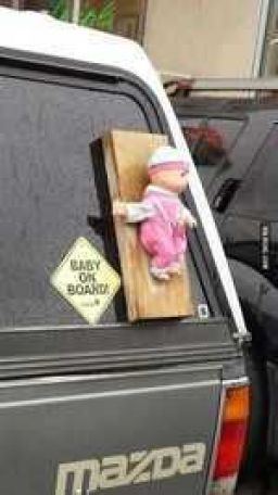 Baby on board...