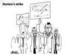Doctor's strike..