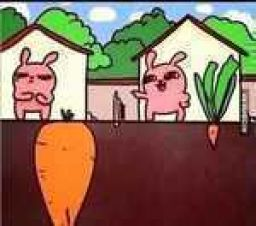 Check your own carrot size before you judge others'