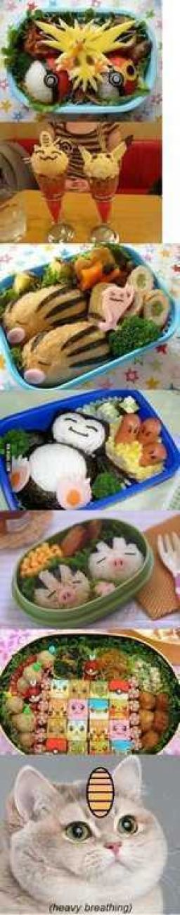 Awesome Pokemon food art