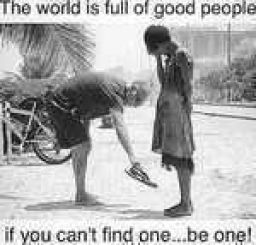 Just be one... That's it. Not that hard.