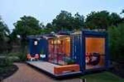 Once a shipping container, now a home