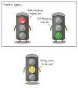 Poor Yellow Light