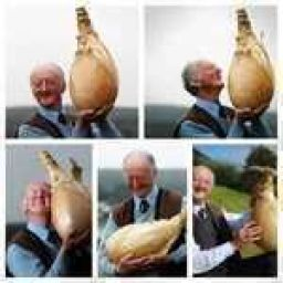 When you're sad, just look how happy this man is with his onion