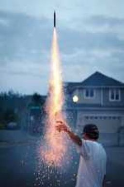 Fourth of July Bottle Rocket